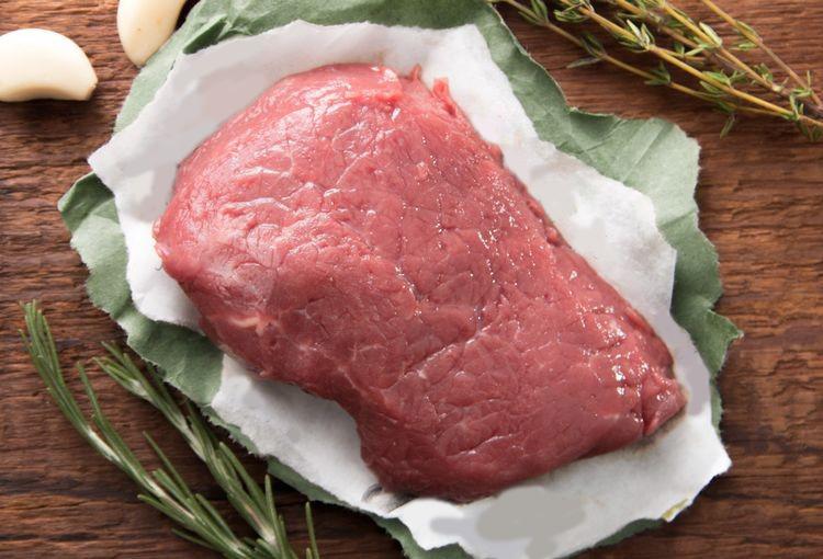 grass fed organic roast beef recipe with garlic